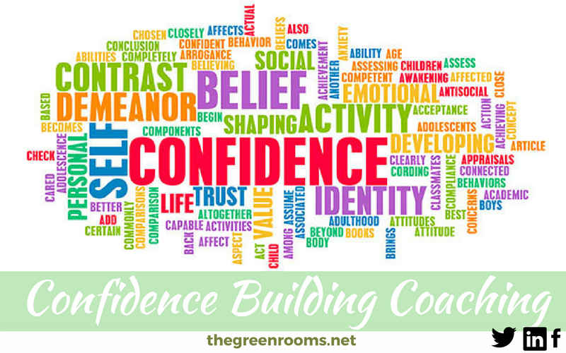 Confidence Building Coaching Diagram