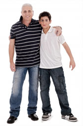 Father and Son Couple Counselling