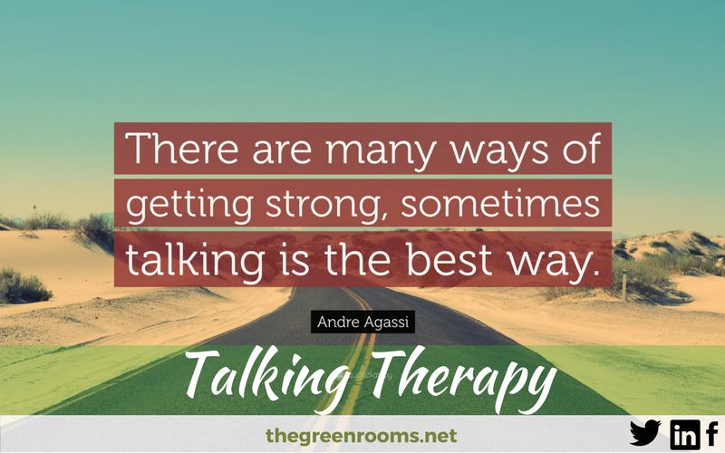 Talking Therapy Inspirational Quote Andre Agassi