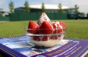 Strawberries at Wimbledon