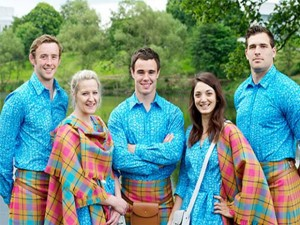 Scotland Team - Glasgow Commonwealth Games