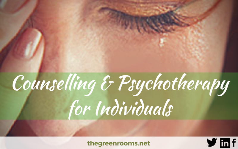 Counselling and Psychotherapy for Individuals
