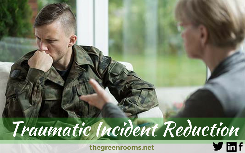 Traumatic Incident Reduction session with ptsd diagnosed soldier